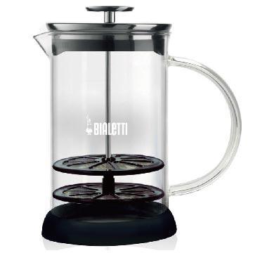 義大利Bialetti 玻璃雙層奶泡器 1L