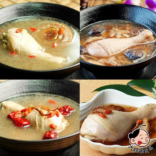 【大嬸婆】客家經典風味雞湯12件組(500g/包)