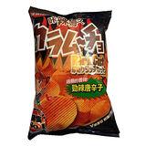 卡辣姆久厚切洋芋片 勁辣唐辛子口味78g