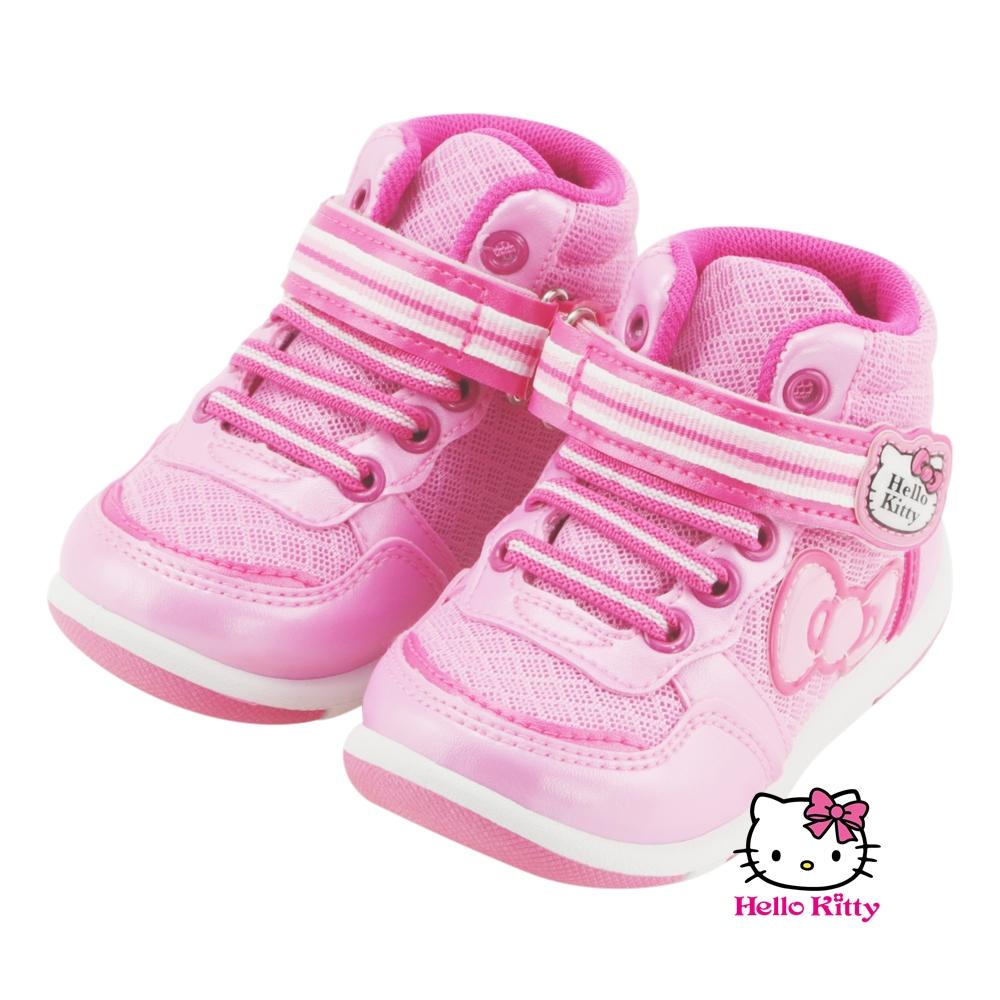 【MODAbobo】Hello Kitty 小中童段中筒童鞋-粉T5A8-715137