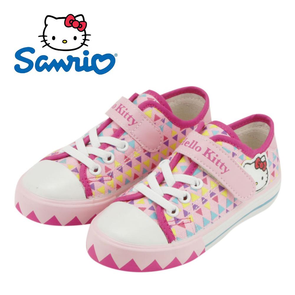 【MODAbobo】Hello Kitty 小中童段 繽紛加硫童鞋-粉T5S8-715918