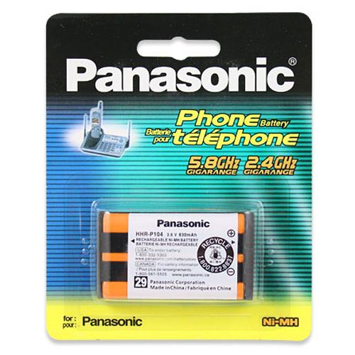國際牌 Panasonic 無線電話原廠電池 HHR-P104