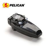 【美國原裝進口】 PELICAN 2220 雙LED 迷你夾燈 頭燈 工作夾燈 帽沿夾燈 (黑色)