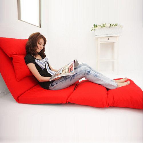 椅背五段式調整 小資女孩多功能沙發床