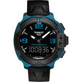 TISSOT T-RACE鋁合金多功能觸控錶-藍/42mm T0814209705704