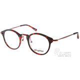 Go-Getter眼鏡 簡約半圓框款(紅琥珀) #GO2003 REDE