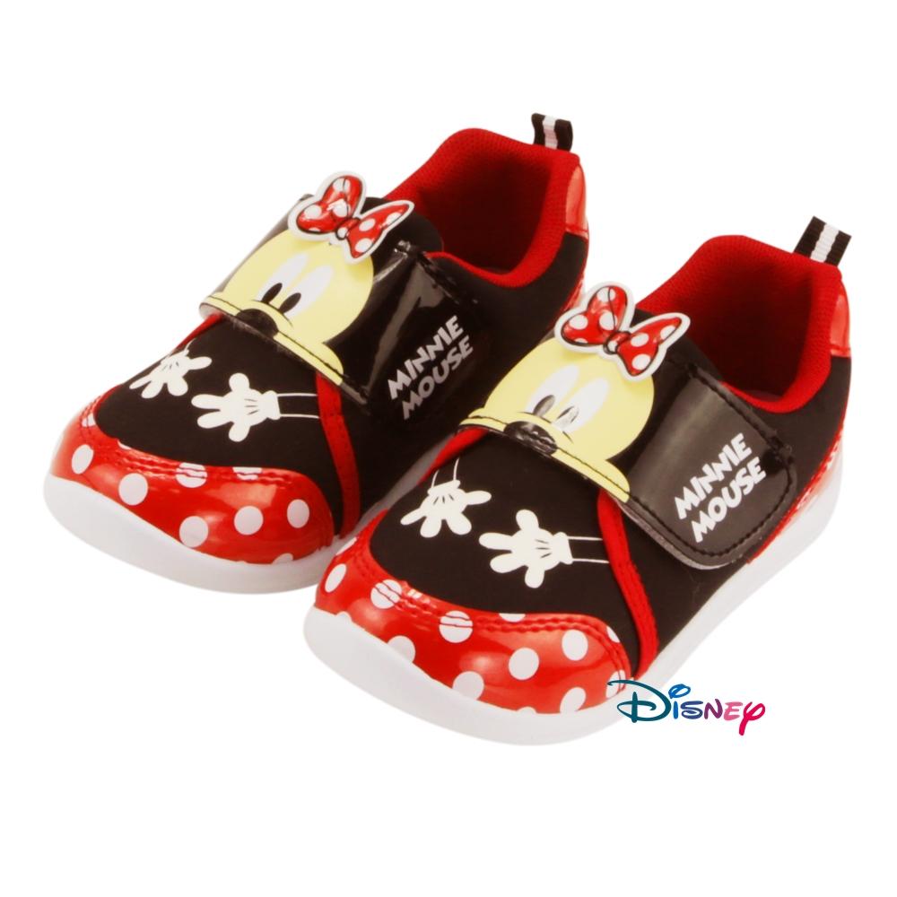 【MODAbobo】迪士尼Disney 小中童段 米奇米妮愛的抱抱可愛休閒鞋-紅 D5A8-453054