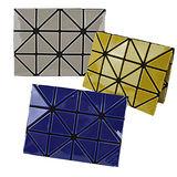 ISSEY MIYAKE 三宅一生 BAOBAO幾何方格3x4名片夾(任選)