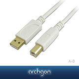 archgon亞齊慷 USB 2.0 A–B 1.5M高速傳輸線