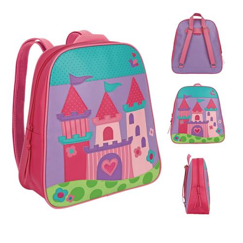 美國【Stephen Joseph 】GOGO美式兒童造型防水背包(公主城堡)