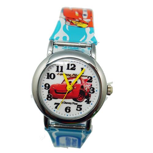 【Disney-迪士尼】兒童錶---汽車麥坤