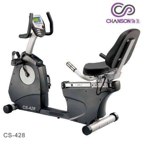 【強生CHANSON】黑金剛斜背式健身車CS-428