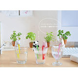 【PS Mall】動物喝水盆栽 桌面迷你綠植物 小兔 (J1447)
