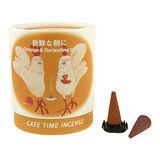 【任選】Nippon Kodo 日本香堂 閒情薰香系列錐香10個(小雞)