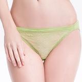 【SWEAR】春露系列蕾絲低腰三角褲(嫩芽綠)