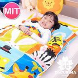 【日本濱川佐櫻-俏皮夥伴】純棉冬夏兩用兒童睡袋