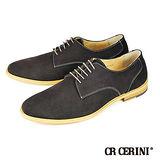 【CR CERINI】都會簡約麂皮休閒鞋 棕色(90242-DBRS)