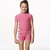 【SARBIS】MIT泡湯SPA女童二件式泳裝附泳帽B80501