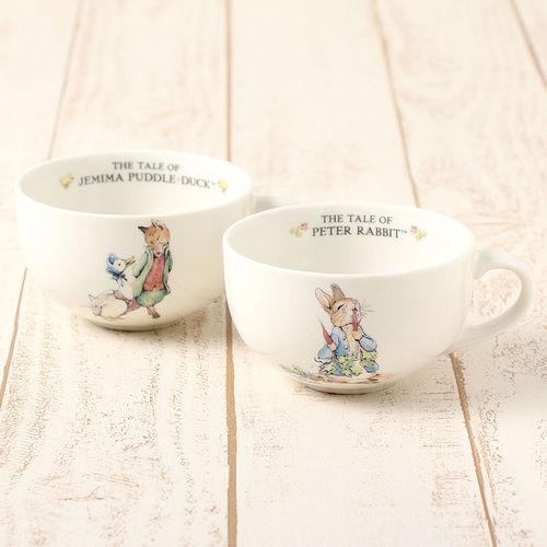 【クロワッサン科羅沙】Peter Rabbit~ 經典比得兔湯杯組(比得潔瑪)PR290-236