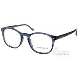GIORGIO ARMANI眼鏡 極簡時尚/藍#GA7074F 5402