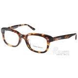 GIORGIO ARMANI 眼鏡 時尚成熟別緻款(琥珀) #GA7089F 5092