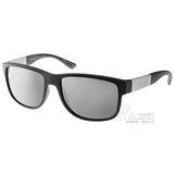 GIORGIO ARMANI太陽眼鏡 義式簡約/黑-水銀#GA8057 50426G