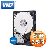WD 威騰 Blue 藍標 4TB 3.5吋 64M SATA3 內接硬碟(WD40EZRZ)