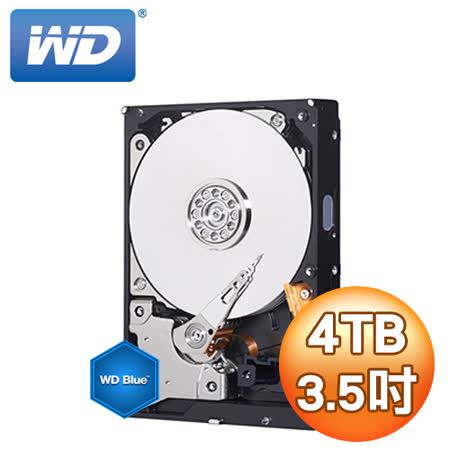 WD 藍標4TB 3.5吋 內接硬碟
