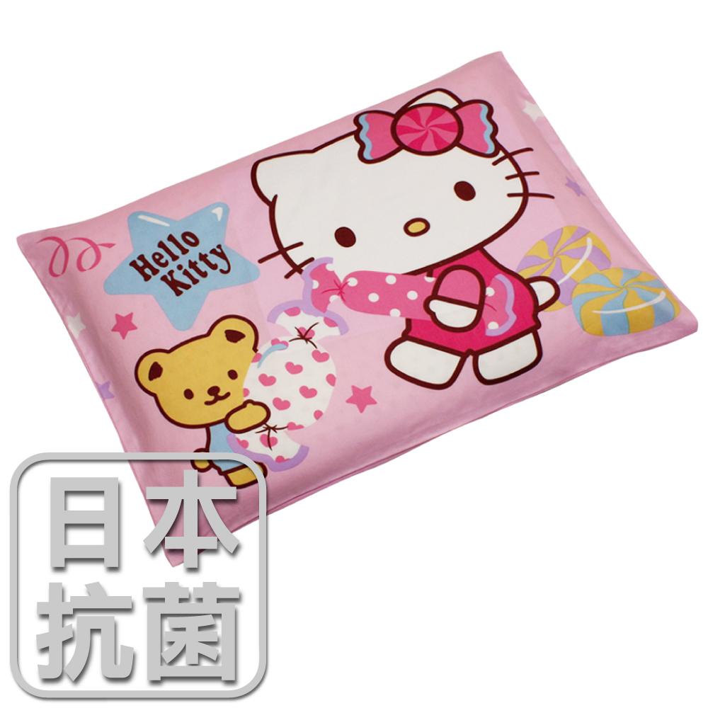 【鴻宇HongYew】兒童標準乳膠枕-Hello Kitty我的甜蜜夥伴(粉) HK2003P-R