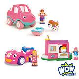 英國 WOW Toys 驚奇玩具 女孩遊戲 3件組