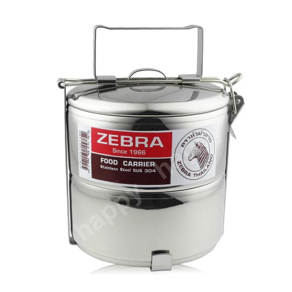 斑馬牌不銹鋼多層提鍋便當盒12cm~2層