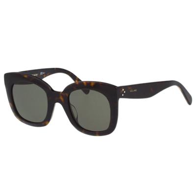 CELINE- 時尚復古太陽眼鏡(琥珀色)