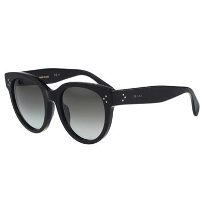 CELINE- 時尚復古太陽眼鏡(黑色)