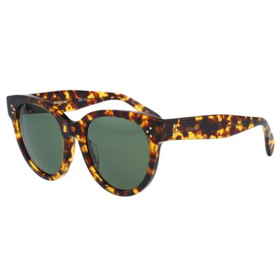 CELINE- 時尚復古太陽眼鏡(豹紋)