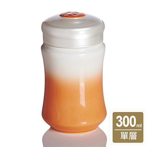 《乾唐軒活瓷》微笑曲線隨身杯 ( 小 / 單層 / 白橘 )