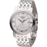 TISSOT Bridgeport 寶環系列經典紳士錶 T0974101103800