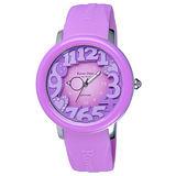 Roven Dino羅梵迪諾  漫步星雲時尚輕質量腕錶-紫