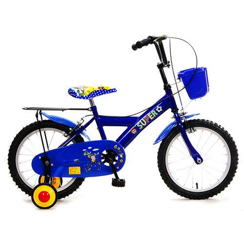 【FUSIN】KB-05 玩樂小子16吋可愛輔助輪童車(三色可選)