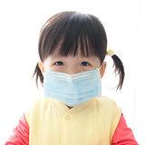 【PS Mall】日韓素面純色兒童平面防塵口罩 1包50入 (J872)