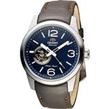 ORIENT 東方錶 SEMI-SKELETON 系列半鏤空機械錶 FDB0C004D