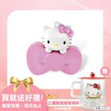 Hello Kitty 16GB 蝴蝶結系列造型隨身碟-珠光粉