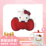 Hello Kitty 32GB 蝴蝶結系列造型隨身碟-璀璨紅