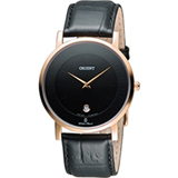 ORIENT 東方錶簡約時尚石英錶 FGW0100BB