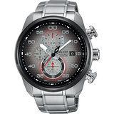 ALBA SignA 星際巡航計時腕錶-金屬色漸層/45mm VD57-X066D(AM3267X1)
