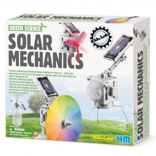 《4M科學探索》Solar Mechanics 太陽能機械組