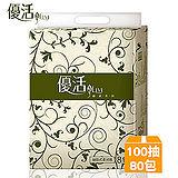(團購)優活抽取式柔拭家用紙100抽x80包/箱