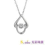 【光彩珠寶】日本舞動鑽石項鍊 優雅 愛