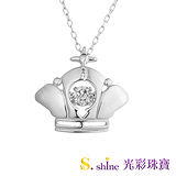 【光彩珠寶】日本舞動鑽石項鍊 女王