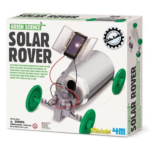 《4M科學探索》太陽能巡邏車 Solar Rover