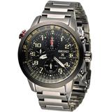 精工 SEIKO PROSPEX 太陽能方位計時紳士錶 V176-0AG0SD SSC419P1 金屬